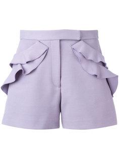 шорты с оборками Elie Saab