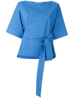 блузка с поясом Erika Cavallini