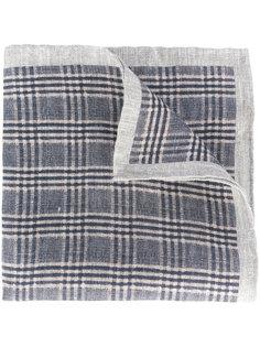 тканый льняной шарф Eleventy