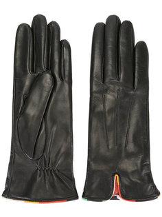 кожаные перчатки Paul Smith