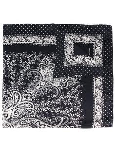 шелковый шарф с орнаментом The Kooples