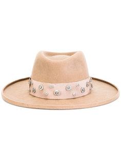 декорированная фетровая шляпа The Kooples