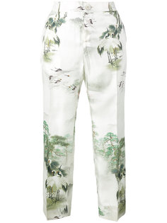 пижамные брюки с Японским принтом For Restless Sleepers