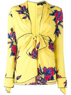 блузка с цветочным принтом Proenza Schouler