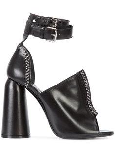 босоножки на массивном каблуке Ellery