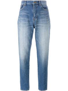 джинсы бойфренды Saint Laurent