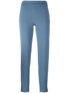брюки прямого кроя Emporio Armani