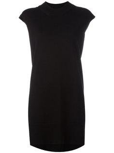 короткое платье-футболка Mm6 Maison Margiela