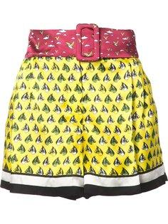 шорты с принтом Mary Katrantzou