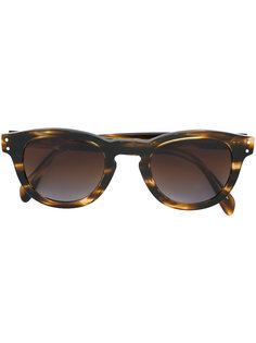 солнцезащитные очки в черепаховой оправе Eleventy
