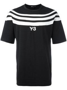 футболка с полосами Y-3