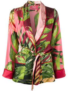 jungle print kimono jacket  For Restless Sleepers
