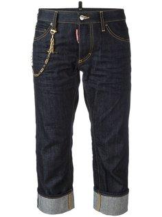 укороченные джинсы бойфренды Dsquared2
