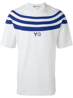полосатая футболка  Y-3