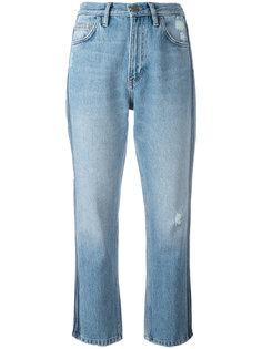укороченные джинсы с лампасами Mih Jeans