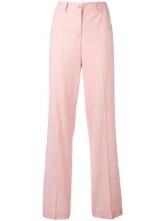 брюки с завышенной талией Boutique Moschino