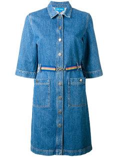джинсовое платье-рубашка Mih Jeans