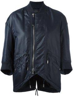 куртка-бомбер с рукавами три четверти Diesel Black Gold