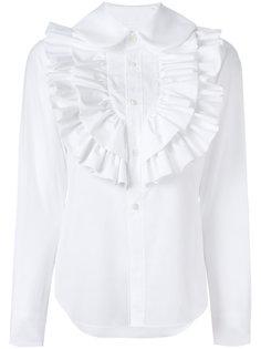 рубашка с рюшами Comme Des Garçons