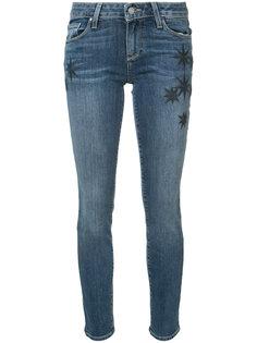 джинсы Skyline Ankle с вышивкой Paige