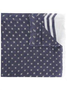 шарф с цветочным принтом Diesel