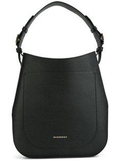 сумка-тоут с бляшкой с логотипом Burberry
