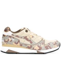 кроссовки с камуфляжным принтом Diadora