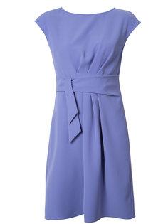 платье с поясом и драпировкой Armani Collezioni