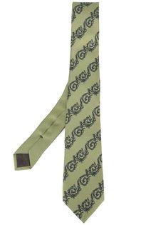 галстук с узором Versace