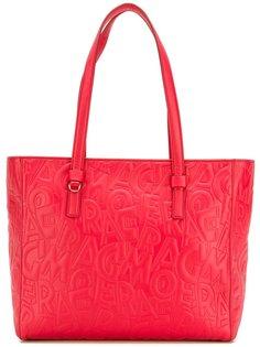 текстурированная сумка-тоут Salvatore Ferragamo