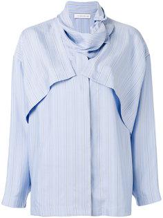 многослойная рубашка в полоску J.W.Anderson