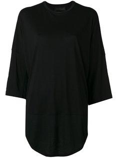 футболка с рукавами три четверти  Diesel Black Gold