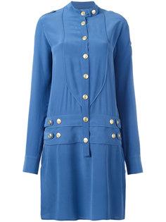 платье-рубашка в стиле милитари  Pierre Balmain