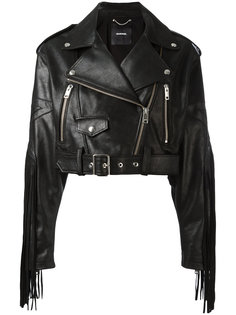 байкерская куртка с бахромой Diesel