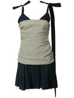многослойное платье мини Jacquemus