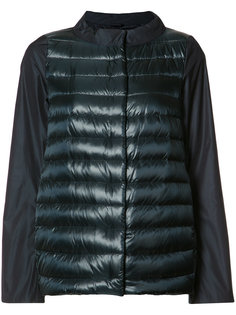 куртка-пуховик с широкой горловиной Herno