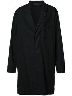 объемное пальто средней длины Haider Ackermann