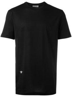 футболка с заплаткой в виде жука Dior Homme