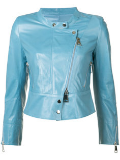 байкерская куртка без рукавов Sylvie Schimmel