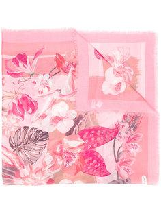 шарф с цветочным рисунком Salvatore Ferragamo