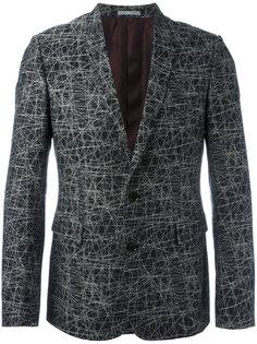 пиджак с абстрактным принтом Dior Homme