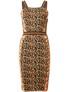 платье с отделкой Greca Versace