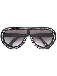 солнцезащитные Falabella очки-авиаторы Stella McCartney