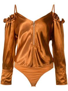 боди с открытыми плечами Nina Ricci