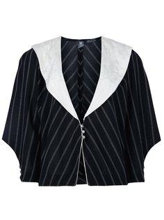 пиджак в полоску Emanuel Ungaro Vintage