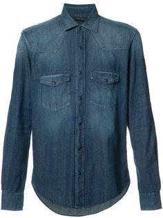 джинсовая рубашка с нагрудными карманами Belstaff