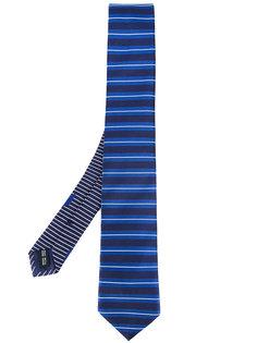 галстук в полоску Salvatore Ferragamo