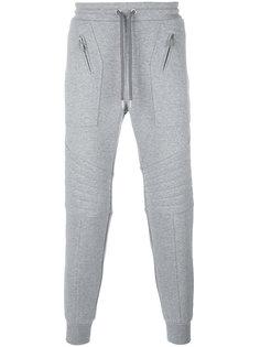 спортивные брюки с ребристыми панелями Les Hommes