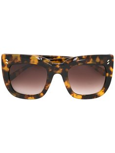 объемные солнцезащитные очки в квадратной оправе Stella McCartney