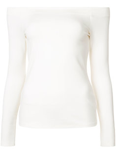 блузка с открытыми плечами и длинными рукавами Lagence